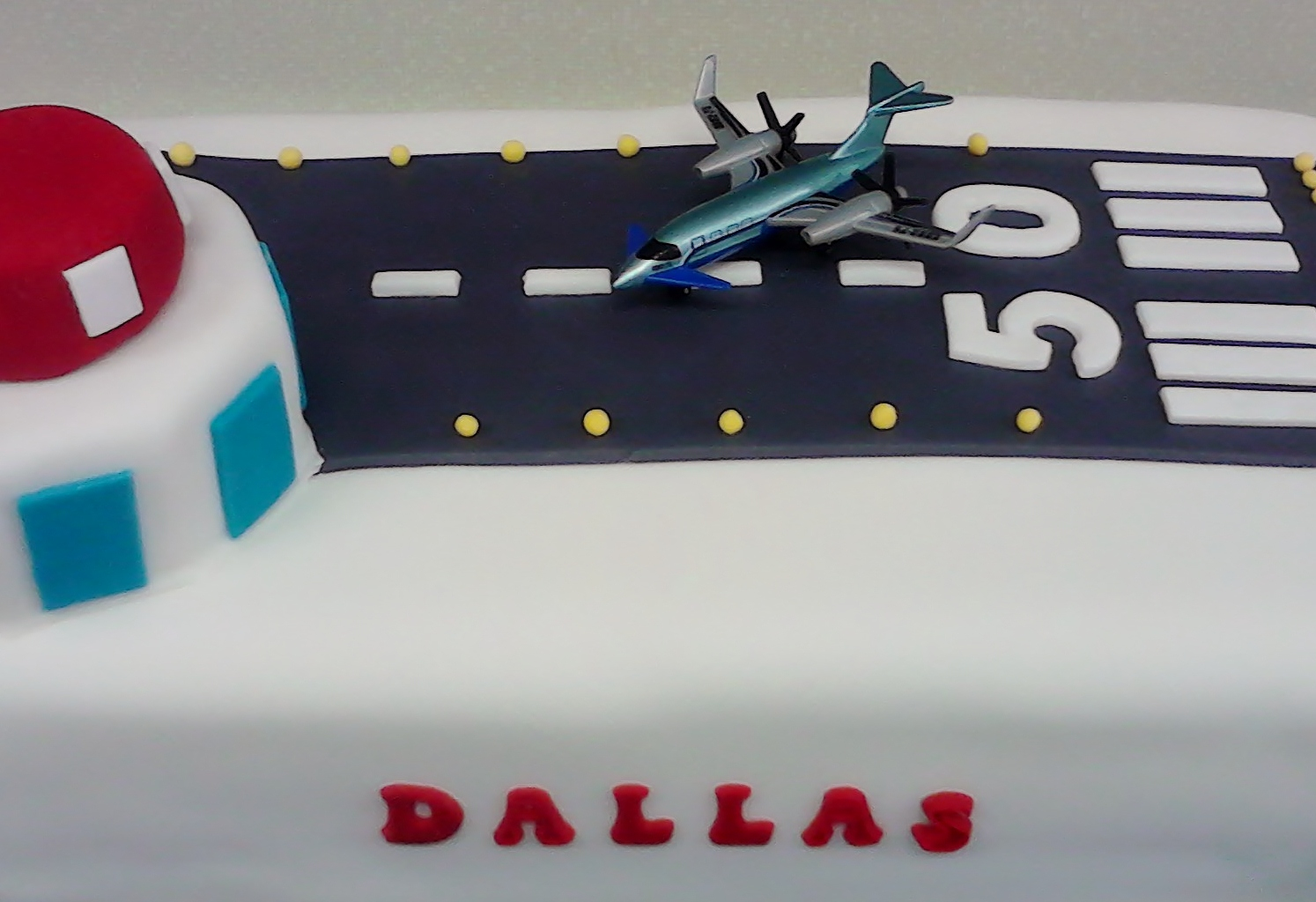 Cakes For You 50th Birthday Airport Cake