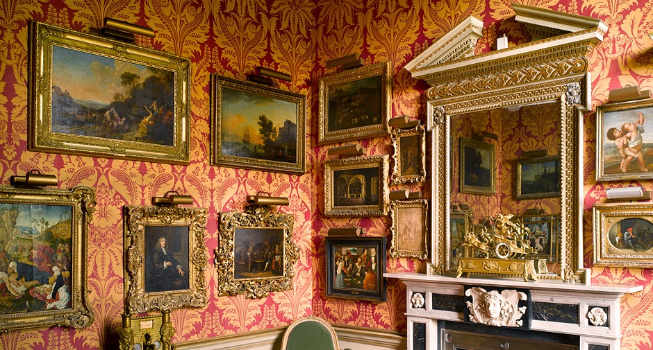 English country house art cataloguing the country house for Country house collections
