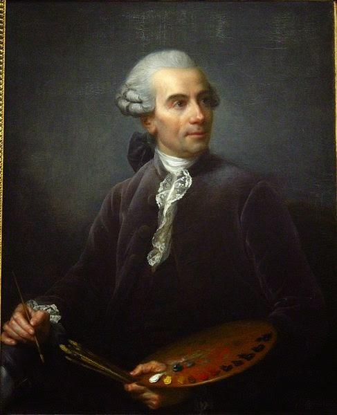 Claude-Joseph Vernet by Élisabeth-Louise Vigée-Le Brun, 1778