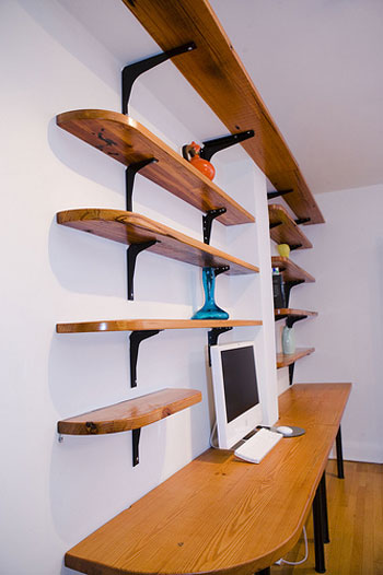 Diy wall shelves modern home exteriors for Easy diy wall shelf