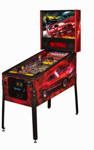 Stern Pinball Creates Three New Mustang-Themed Games