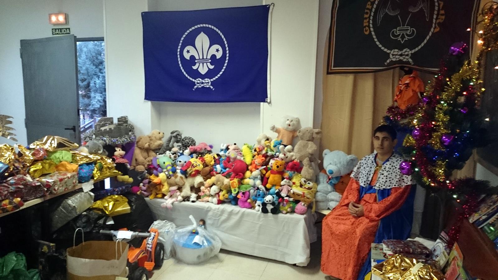 Ampa csb madrid resultado ii campa a de recogida de juguetes for Autoescuela colonia jardin
