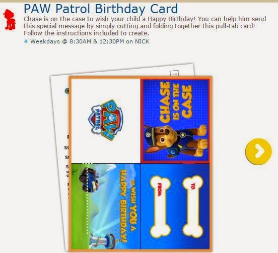 Paw Patrol o Patrulla Canina: Tarjeta de Felicitación para Imprimir Gratis.