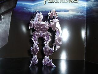 recortable de papel del robot barricade de la serie transformers
