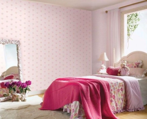 girl bedroom wall designs
