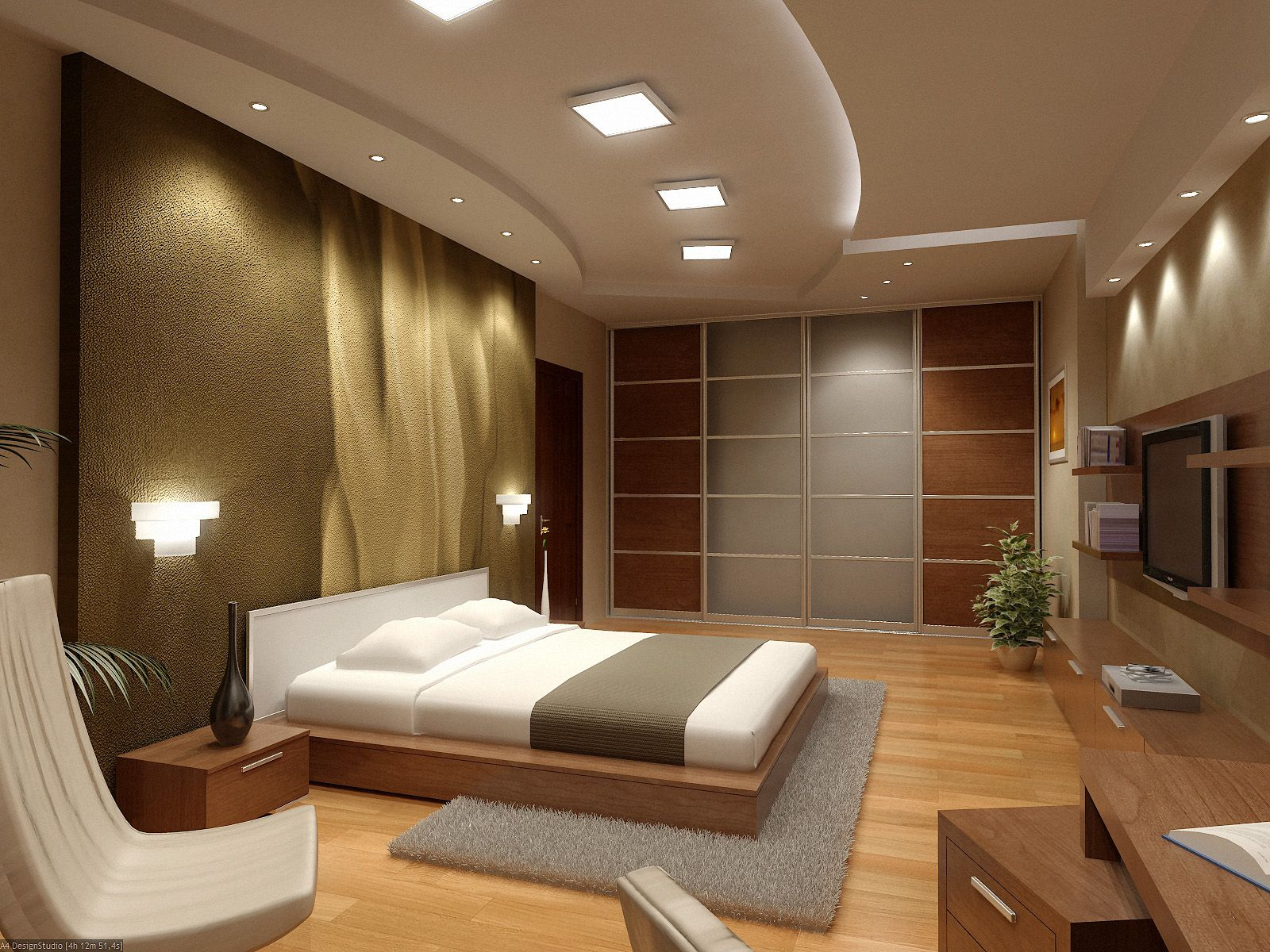 New home designs latest modern homes luxury interior for Modern bedroom interior designs