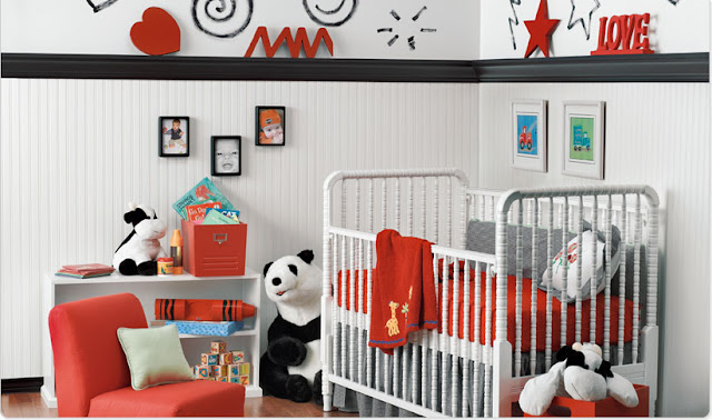 Modern Baby Room Decorations Idea
