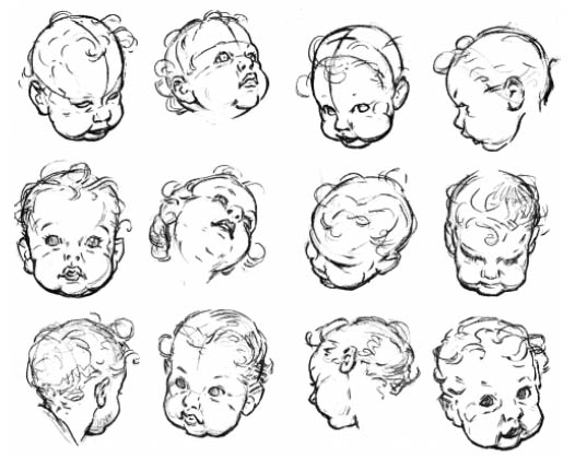 Line Drawing Baby Face : T anatomy babies toddlers children on pinterest