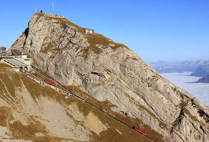 Mount Pilatusbahn Swiss Scenic Train from Euro Railways
