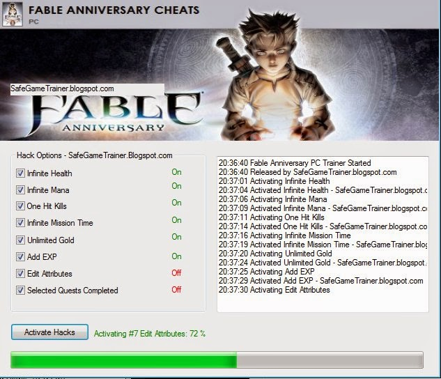 fable 3 trainer