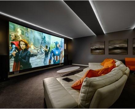 How To Decor Home Entertainment Or Media Room Inspiring