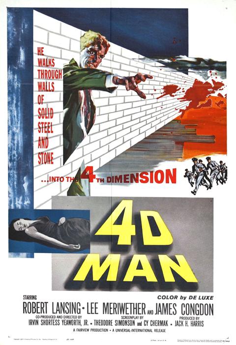 Blog Ficticio: El Hombre de la Cuarta Dimensión