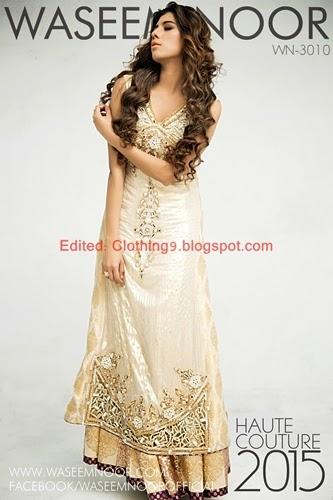 Waseem Noor Dresses Designs