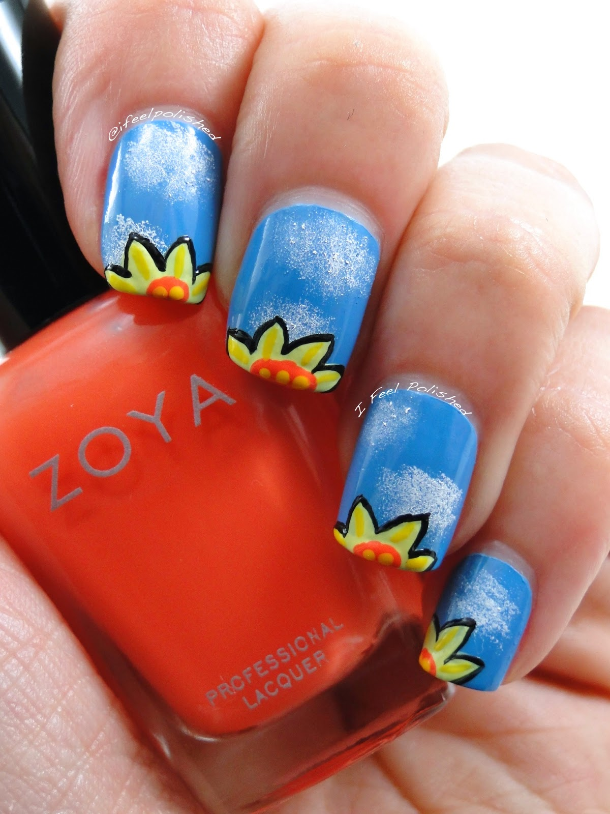 Daffodil Nails