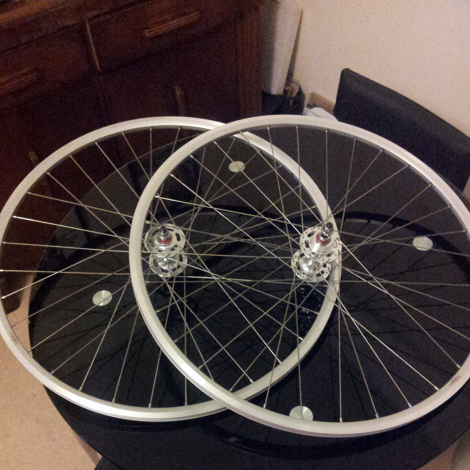 single speed 700c flip flop wheelset