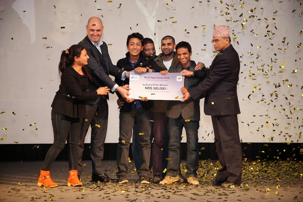 ICT For Agriculture - Grand Prize winner of Ncell App Camp 2014
