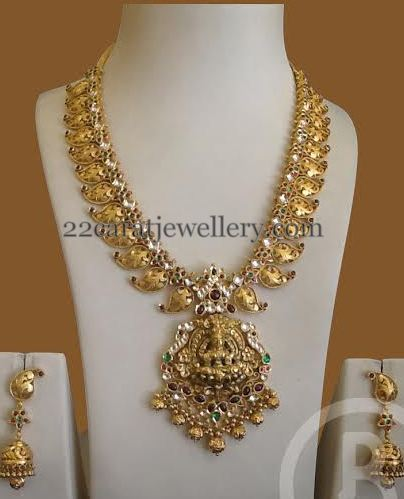 Light Weight Mango Set by Bombay jewels