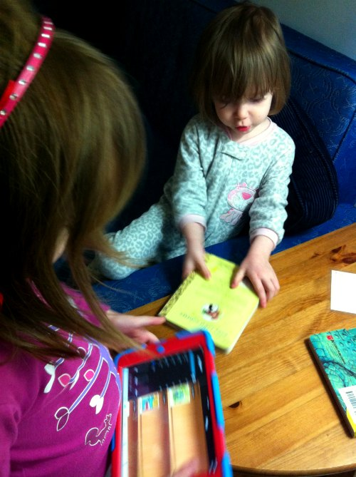 Homeschooling curriculum ideas: checking out books