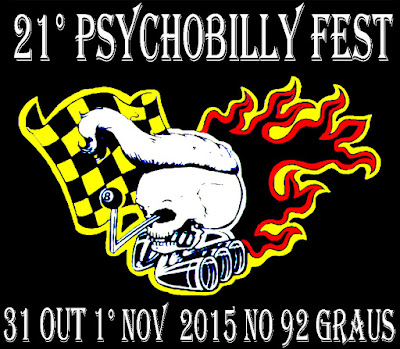 21º Psychobilly Fest (2015) - Data Confirmada!!