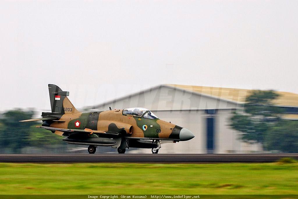 Pesawat Tempur Hawk Dipensiunkan usai Bertugas 35 Tahun
