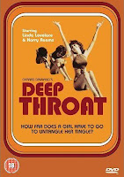 Capa do filme estadunidense Deep throat (Garganta Profunda)