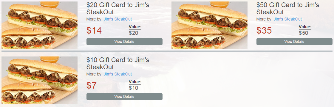 Steak out coupons