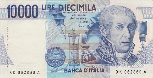 banconota 10000 lire