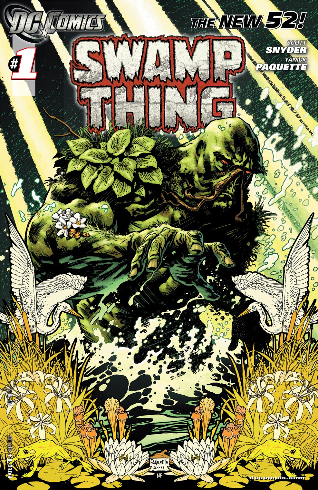 Monster Blog: Swamp Thing, you make my heart sing?