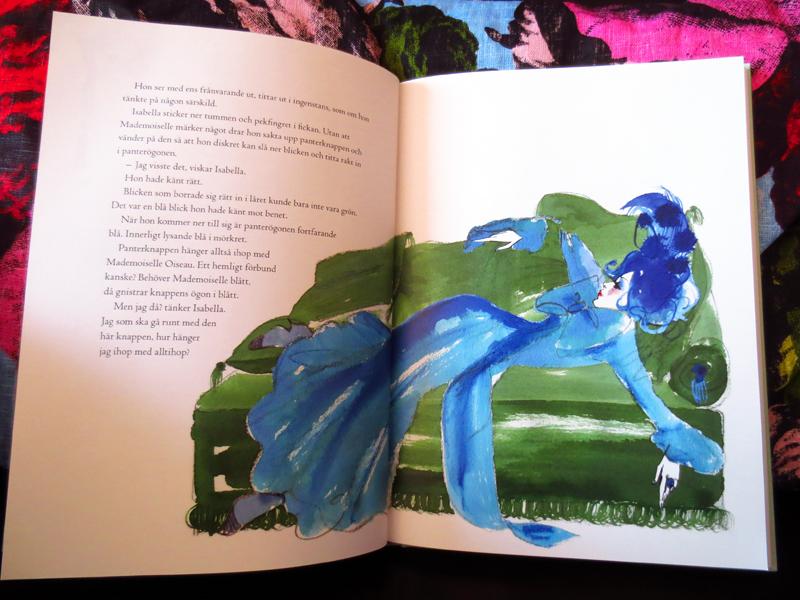 Mademoiselle Oiseau blue