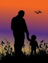 Sunset Father and Child