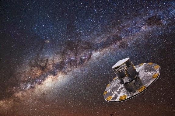 Wahana Antariksa Gaia Menemukan 70.000 Planet Luar Surya Baru
