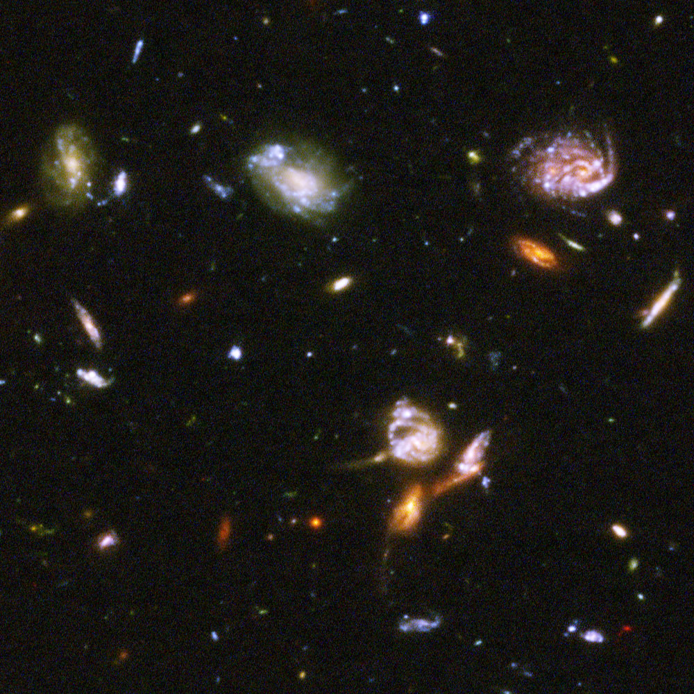 hubble deep fields orion - photo #18