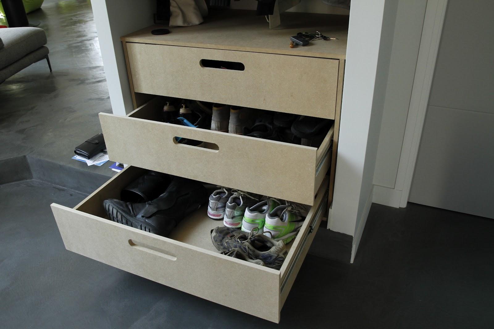Flo le bricolo r alisation d 39 un meuble chaussures for Assemblage meuble mdf