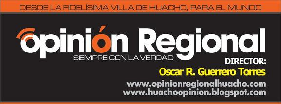 OPINION REGIONAL HUACHO