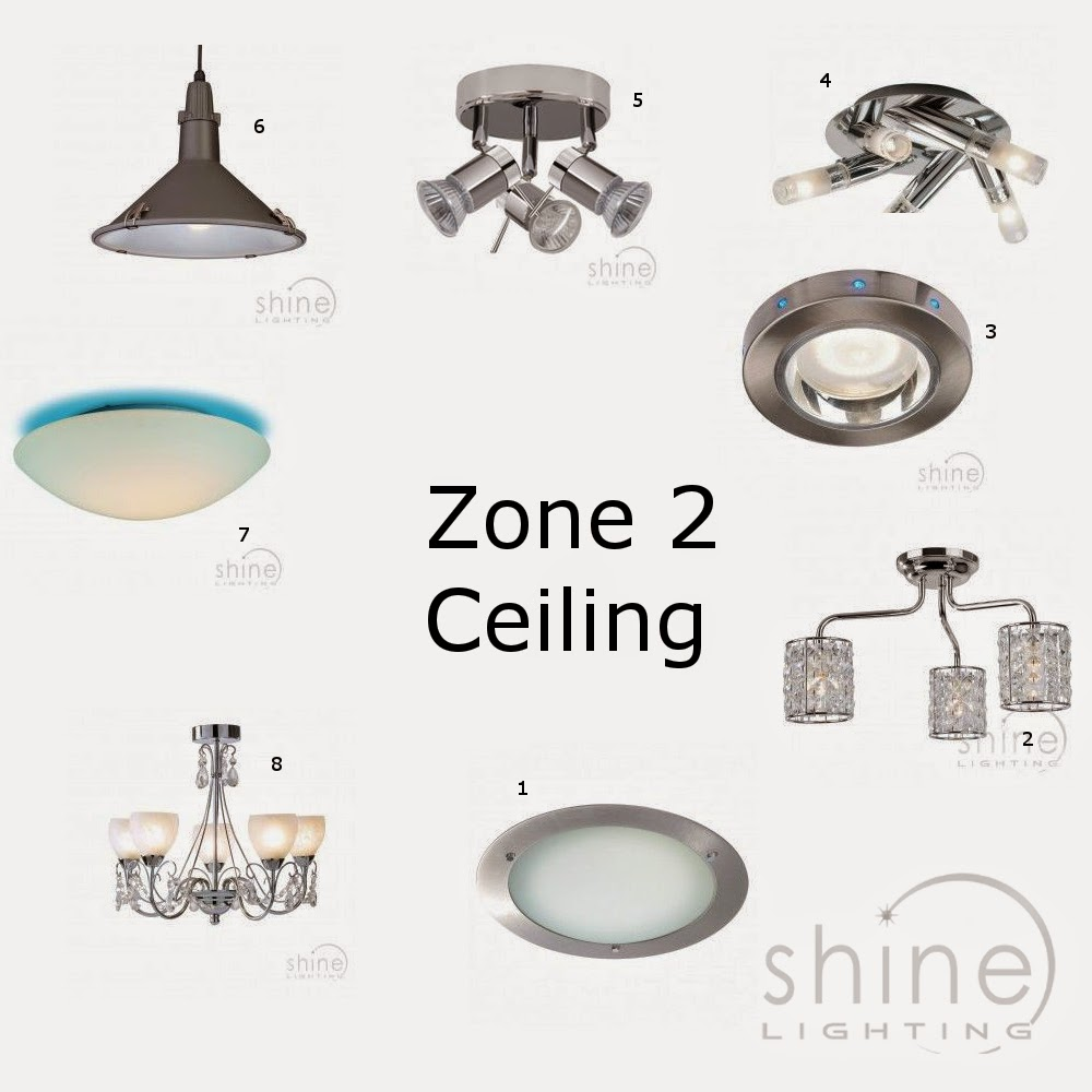 Entrancing 30 bathroom lights zone 2 design decoration of for Bathroom zone 3