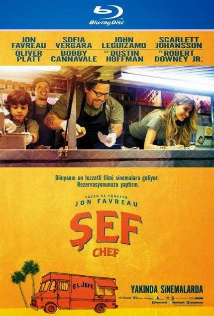 Şef - Chef - 2014 - film - bluray - poster