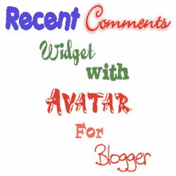 Recent Comments Widget with Avatar