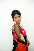 Nidhi Natuiyal Glamorous Photos in Saree-thumbnail-1