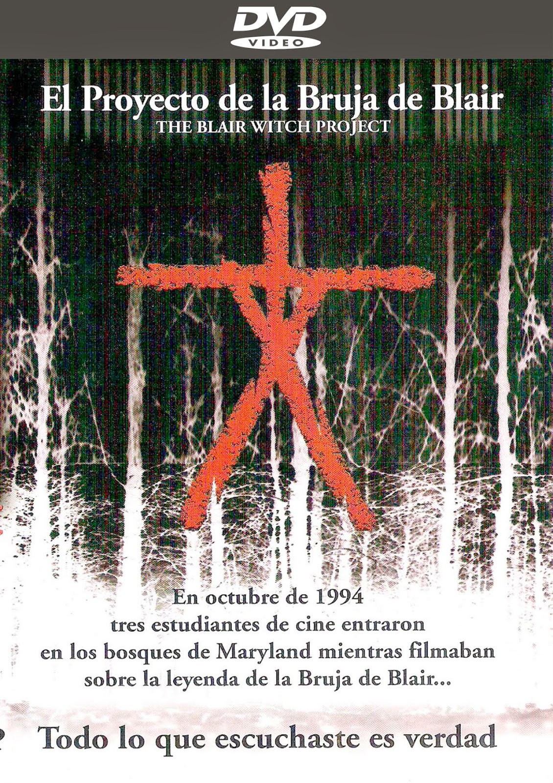 The Blair Witch Project [1999] [Latino] [DVD Full]