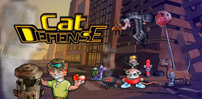 Cat Defense v1.04 Apk Full Free Download
