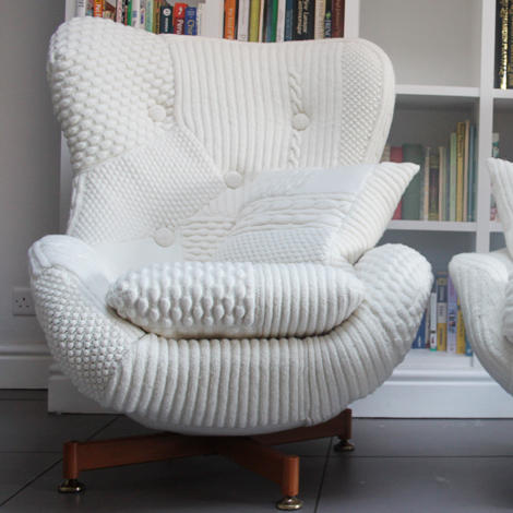 Another Designer That Knits Furniture Is Claire Ann Ou0027Brien. She Mostly  Creates Stools. Just Look At Them   True Work Of Art They Are, Every One Of  Them.