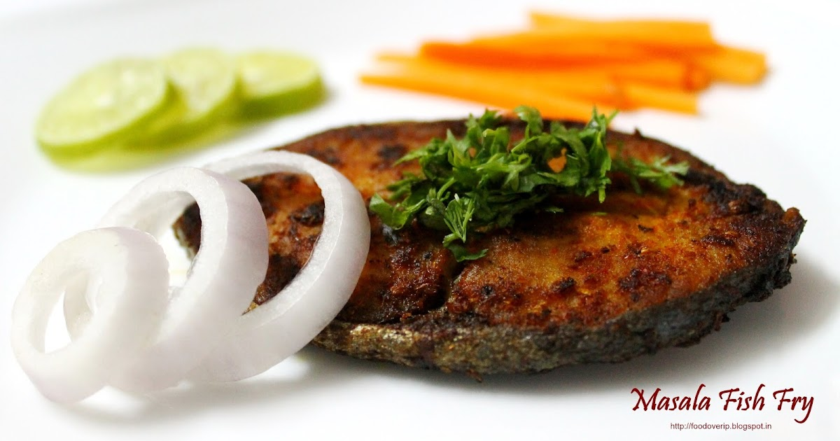 how to make fish fry masala
