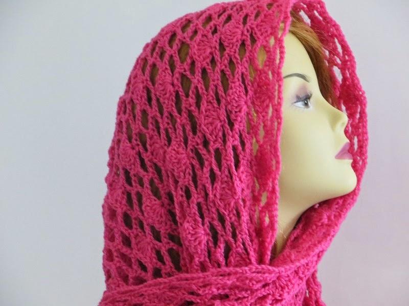 Tyra Triangle Shawl, Free Crochet Pattern, Lacy Scarf Pattern ...