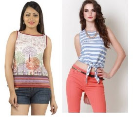 Buy Branded Tops & Tunics At 50% Cashback at Rs 98 only:buytoearn