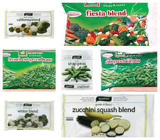Spartan frozen vegetables