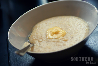 Healthy Creamy Grits