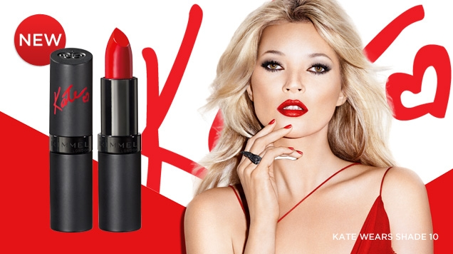 Rimmel London Kate Moss Lasting Finish Lipstick