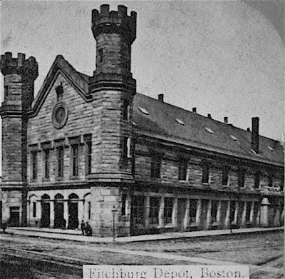 Fitchburg Depot circa 1845