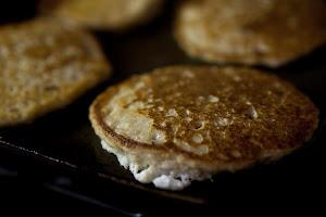 Oatmeal Pancakes & Homemade Granola