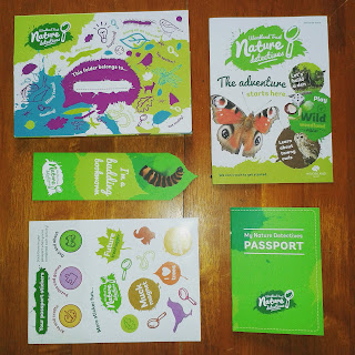The Woodland Trust Nature Detectives membership pack